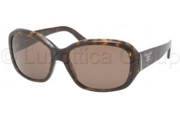 Prada PR31NS Progressive Prescription Sunglasses PR31NS-2AU8C1-5816 - Lens Diameter 58 mm, Frame Color Havana