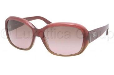 Prada PR31NS Progressive Prescription Sunglasses PR31NS-EAE5P1-5816 - Lens Diameter 58 mm, Frame Color Bordeaux Gradient Brown