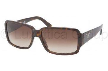 Prada PR32NS Single Vision Prescription Sunglasses PR32NS-2AU6S1-5715 - Lens Diameter 57 mm, Frame Color Havana