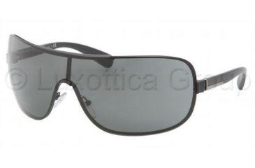 Prada PR54OS Sunglasses 1BO1A1-0141 - Matte Black Frame, Gray Lenses