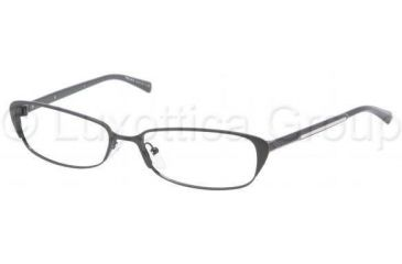 Prada PR54OV Eyeglass Frames FAD1O1-5216 - Black Demi Shiny/Black Frame, 52mm Lens Diameter
