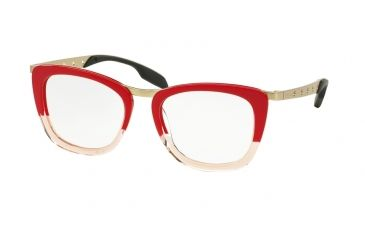 Prada Red Frame Glasses : Prada PR60RV Eyeglass Frames 43% OFF