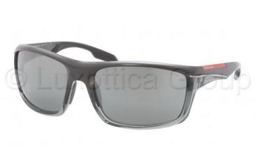 Prada PS01NS Prescription Sunglasses PS01NS-NAU7W1-6318 - Lens Diameter 63 mm, Frame Color Gray Gradient