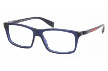 Prada PS02BV #0AX1O1 - Blue Frame, Demo Lens Lenses