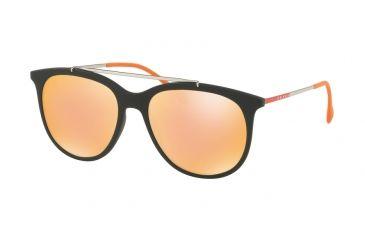 32603cd108d ... spain prada ps02ts sunglasses dg0137 54 black rubber frame orange  mirror pink lenses db9ea 01307