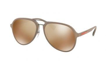 fd1f544e4ebe Prada PS05RS Sunglasses CCHHD0-58 - Brown Rubber Frame
