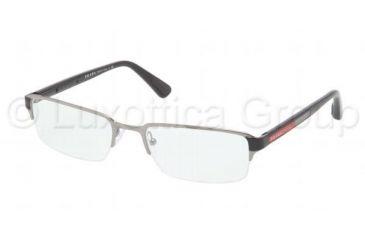 Prada PS51DV Bifocal Prescription Eyeglasses 5AV1O1-5419 - Gunmetal Frame