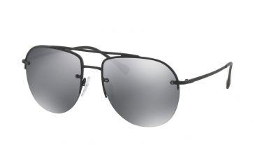 d827f56f6f Prada PS53SS Sunglasses DG05L0-59 - Black Rubber Frame