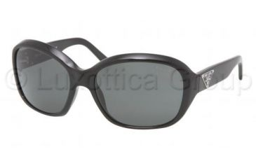 638be71748b73 Prada Sunglasses PR10MS 1AB1A1-5916 - Gloss Black Frame