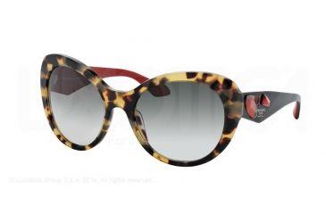 914be36ed2 Prada VOICE PR26QS Sunglasses 7S00A7-56 - Medium Havana Frame