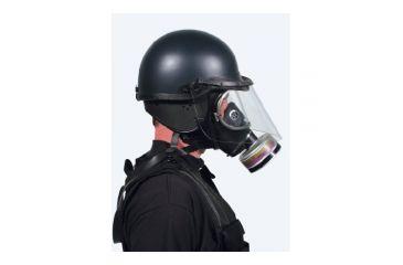 Premier Crown Corp 906 W/gas Mask Face Lg - 9065FS6-LG