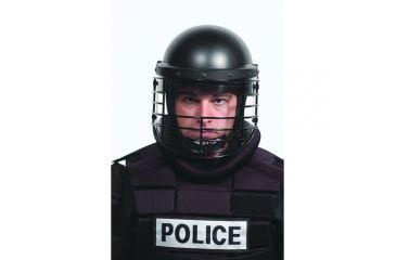 Premier Crown Corp Epr Riot Helm, Brn,wire Face - 9001C
