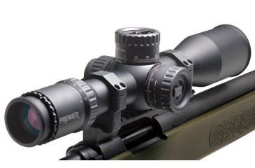 Premier Reticles Heritage 3-15x50mm Tactical Rifle Scope - Illuminated Gen II-XR Mildot Reticle, 1/4 MOA