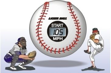 2-Laser Ball Baseball Speed Radar LB10