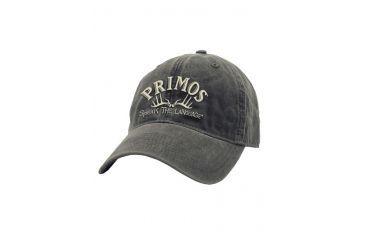 Primos Hunting Primos Hunting Logo Cap w/ Horns, Washed Black 58674