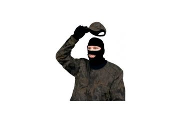 Primos Hunting Stretch-Fit Face Mask, Full Hood, Black 6748