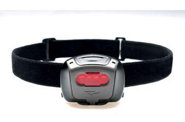 Princeton Tec Quad Black Strap Red Lens