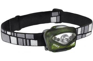 Princeton Tec Vizz Headlamp, Green VIZZ-GR