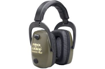 Pro-Ears Dimension 1 Plus Pro-Slim Plus Shooting Hearing Protection Headsets GS1-DPS-Black