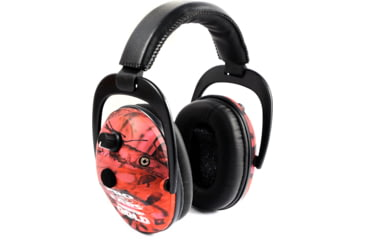 Pro-Ears Predator Gold Shooting Hearing Protection NRR 26 Headset, Pink Camo