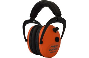 Pro-Ears Pro 300 Wind Abatement Hearing Protection NRR 26dB Headset, Orange P300O