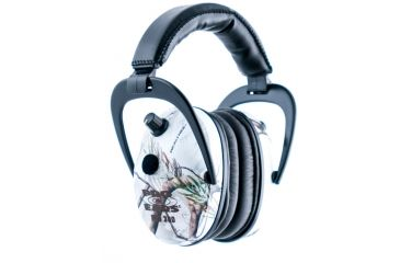 Pro Ears Pro 300 Wind Abatement Hearing Protection NRR 26dB Headset, AP Snow Camo P300-APS