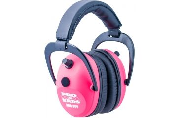 Pro Ears Pro 300 Wind Abatement Hearing Protection NRR 26dB Headset, Pink