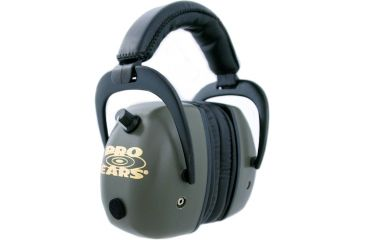 Pro-Ears Pro Mag Gold Hearing Protection Headset, Green