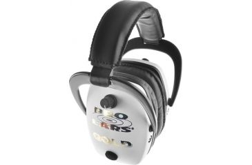 Pro-Ears Pro Mag Gold Hearing Protection Headset, White