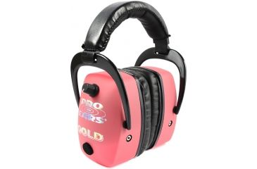 Pro-Ears Pro Mag Gold Shooting Active Hearing Protection Headset - Pink