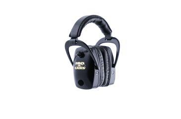 Pro-Ears Pro Slim Gold Electronic Earmuffs, Pink Realtree Camo