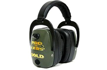 Pro-Ears Pro Mag Gold Shooting Hearing Protection Headset, GS-DPM-Green