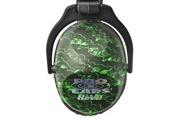 Pro-Ears Revo 26 Passive Hearing Protection Earmuffs, Zombie Edition PE-26-U-Y-017