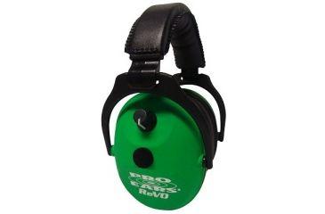 Pro-Ears ReVO Electronic Passive Ear Muffs - Neon Green ER300-NG