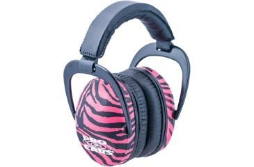 Pro-Ears Ultra Sleek Headset, Pink Zebra PE-US-PZ