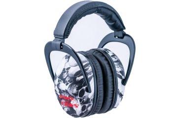 Pro-Ears Ultra Sleek Headset, Skulls PE-US-SK