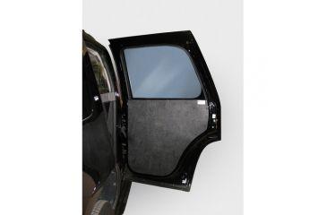 Pro-Gard Industries Rear Door Panels Black Abs - DP56C06
