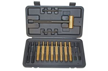Pro Mag 15 Piece Hammer And Punch Set In Plastic Storage Case