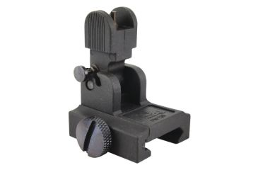 Pro Mag AR-15/M16 Flip Up Gas Block Mount Front Sight Black