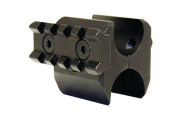 Pro Mag Tactical Shotgun Barrel Clamp Accessory Rail With QD Sling Swivel Black
