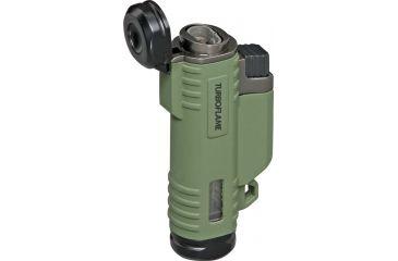 ProForce Turboflame Lighter, Olive Green PF21090