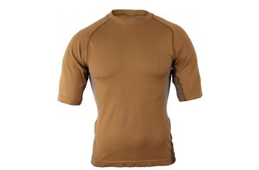 Propper Adventure Tech Level I Top, Short Sleeve, 2XL, Coyote