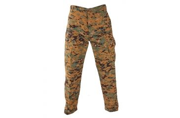 Propper Battle Rip ACU Trouser, 65/35 Polyester/Cotton, Woodland, Extra Small, Regular - F521138-XS2-393