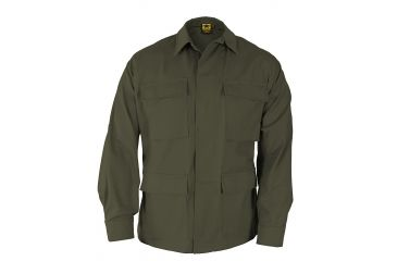 Propper BDU 4-Pocket Coat, 60/40 Cotton/Poly Twill, Choose Size Size Extra Small-Regular, Choose Color Olive Green