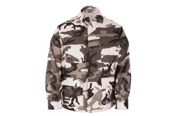 Propper BDU 4-Pocket Coat, 60/40 Cotton/Poly Twill, Choose Size Size Extra Small-Regular, Choose Color Urban Camo