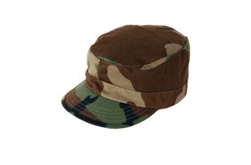 Propper BDU Patrol Cap, 100% Cotton Ripstop, Choose Size Size Small, Choose Color Woodland