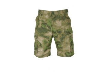 Propper Propper BDU Poly Cotton Battle Rip Shorts w/Button Fly, Large, A-TACS FG F526138381L