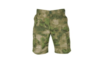 Propper Propper BDU Poly Cotton Battle Rip Shorts w/Button Fly, Medium, A-TACS FG F526138381M