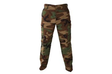 Propper BDU Trouser, 60/40 Cotton/Poly Twill, Size Extra Small-Regular, Color - Woodland