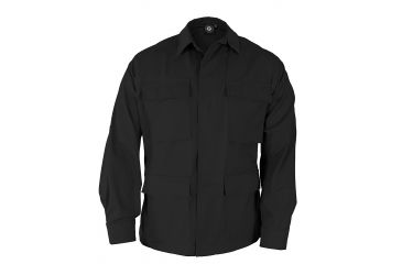 Propper Genuine Gear BDU 4-Pocket Coat Black, 65/35 Poly Cotton Twill, Size 3XLR F5464140013XL3